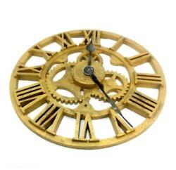 Howard Miller Gold Rusted Iron Designer Choice Allentown 21.5 Wall Clock Decor