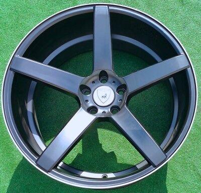 Black XO Luxury Wheels Miami 20 inch Mercedes-Benz S550 S560 S63 S-Class Set 4