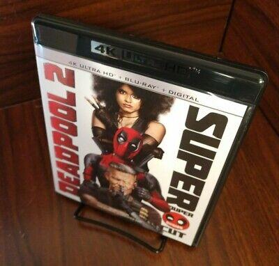 Deadpool 2 (4K Ultra HD+Blu-ray-No Digital)-Free Shipping with Tracking