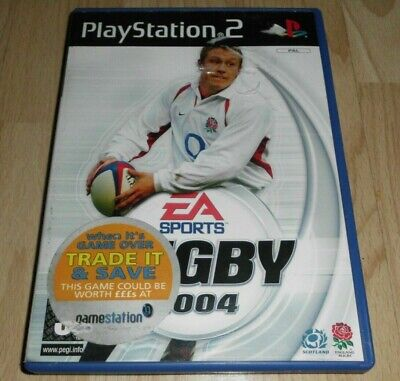 EA Sports Rugby 2004 ...Playstation 2 Game for sale  Shipping to Nigeria
