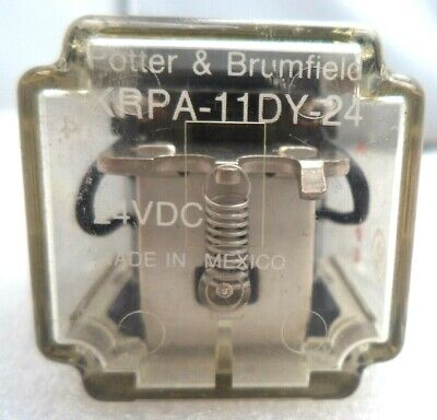 Potter Brumfield 24 Volt Relay Pn Krpa-11dy-24