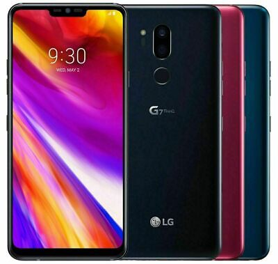 LG G7 ThinQ G710TM - 64GB - GSM Unlocked / T-Mobile / AT&T / Simple Mobile / H20