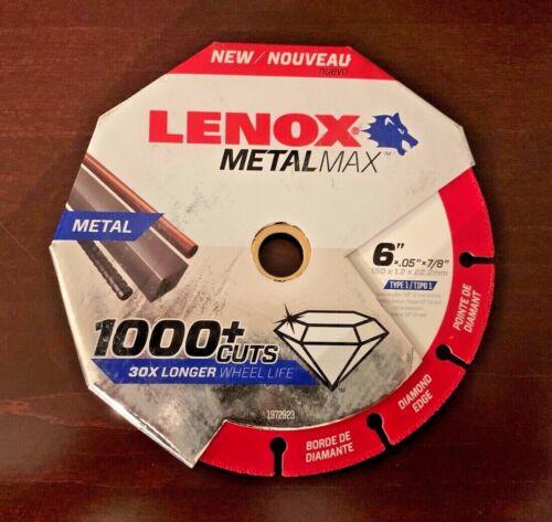 """Lenox Metal Max 6"""" Saw Blade / 1 Blade (NEW)"""