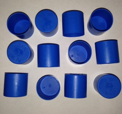 Propane Tank P.O.L. Fitting End Cap, Dust, Rain, Weather Plastic Cap Lot Of 12