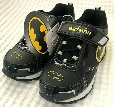 Batman For Kids (DC Comics Batman Boys  Lighted Shoes for kids Choose Size  Brand New/ with)