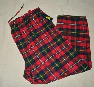 Polo Ralph Lauren Mens Pajama Lounge Pants Sleepwear Plaid Big & Tall Flannel Mens Tall Flannel Pajamas