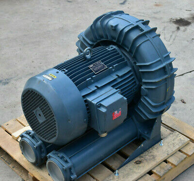 New Fpz Scl K11-ms Mor Regenerative Blower - 20hp - Aeg 208-230v 460v Motor