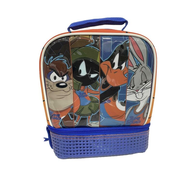 Kids  Warner Bros.  Space Jam Tune Squad Lunch Bag - Taz, Marvin, Daffy, Bugs