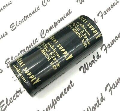 1pcs - Nichicon 10000uf 63v Snap-in Aluminum Capacitor