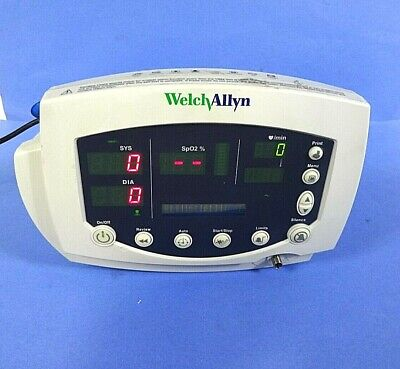 Welch Allyn 53stp Vital Signs Patient Monitor Complete Without Accessories.