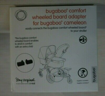 Bugaboo Comfort Wheeled Board Adapter - Black