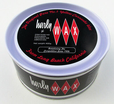 HARLY WAX car polish  PURE CARNAUBA WAX ... harley