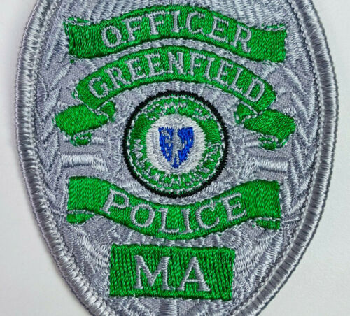 Greenfield Police Franklin County Massachusetts MA Patch A1