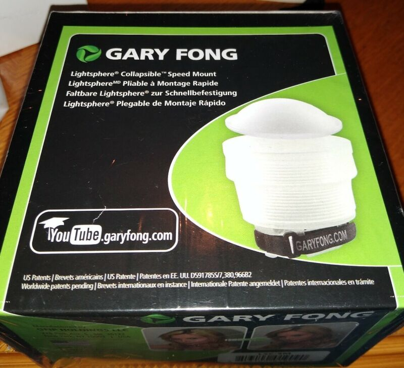 Gary Fong Lightsphere Collapsible Speed Mount LSC-SM for Speedlight Flash