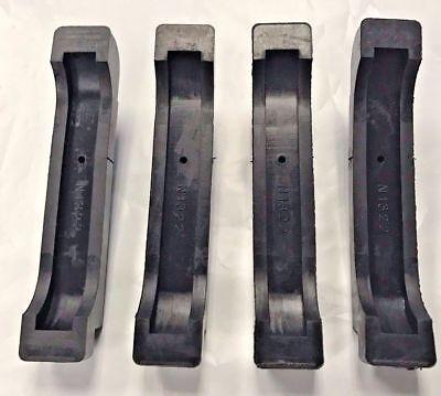 Radiator Pads Insulators Rubber 68-82 GM Correct with metal insert 4 piece 4CORE