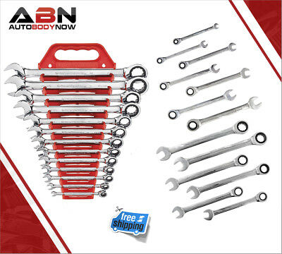 GearWrench 9312 13-Piece SAE Master Ratcheting Wrench Set