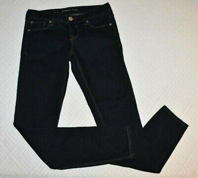 Express Jeans Legging Stella Low Rise 2r Skinny Denim Dark Wash - Low Rise Denim Legging
