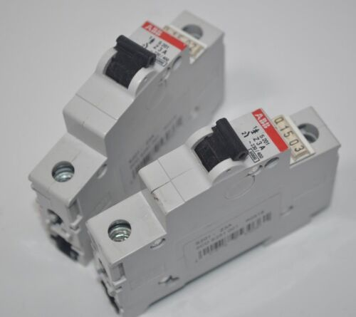 ABB Lot of 2 Miniature Circuit Breakers Model# S201-Z3A