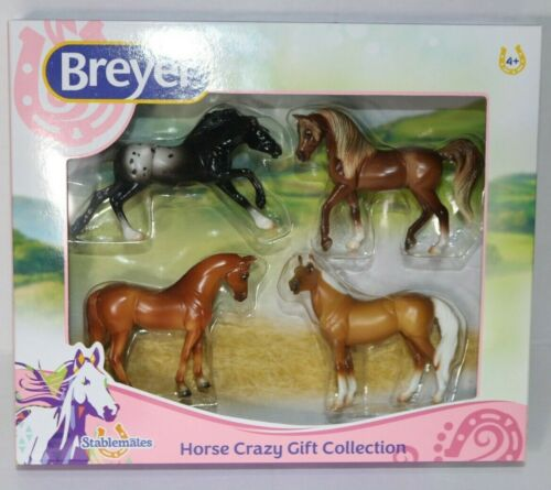 Breyer Stablemates Horse Crazy Collection Set of 4