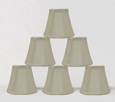 Urbanest Cream Chandelier Mini Lamp Shades Bell ...