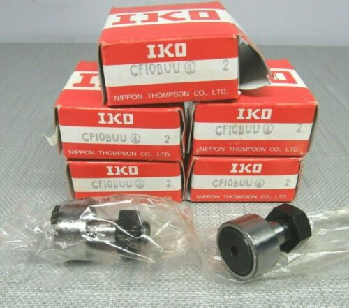 IKO CF10BUU Cam Follower Bearing Lot of 5