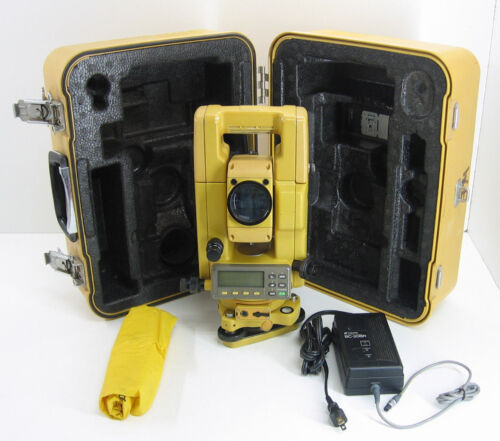 TOPCON GTS-313 TOTAL STATION FOR SURVEYING,1 MONTH WARRANTY