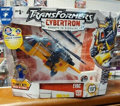 TRANSFORMERS CYBERTRON VOYAGER CLASS EVAC Sealed