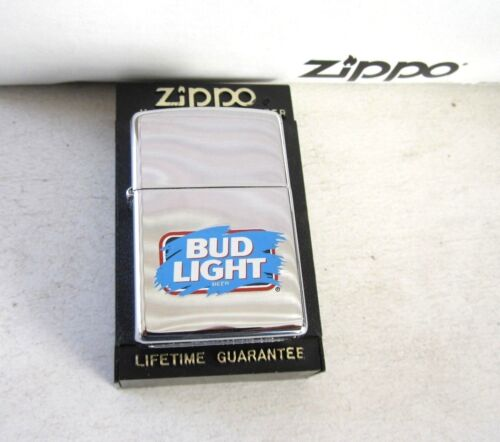 "BUD LIGHT K ZIPPO XI LIGHTER; BRAND NEW IN BOX ""I LOVE YOU MARK"" COLLECTION,RARE"