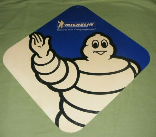 MICHELIN TIRES SIGN VINTAGE ORIGINAL 1960