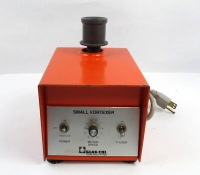Glas-col Small Vortexer Pv-6 Variable Speed Touch Pulser Lab Tube Mixer