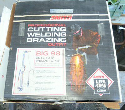 Smith Big 98 Cut-weld-braze Outfit - Nos - Big98-510