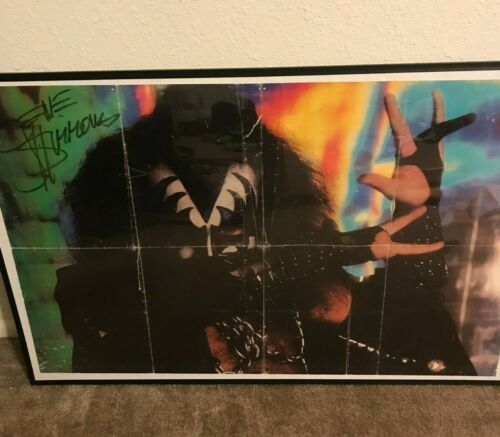 Gene Simmons Original Autographed Poster 23x34