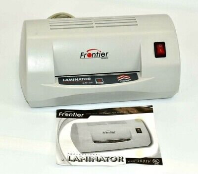 Frontier Lm-25 Professional Laminator Machine Business Photo Id Card Psx-4531v