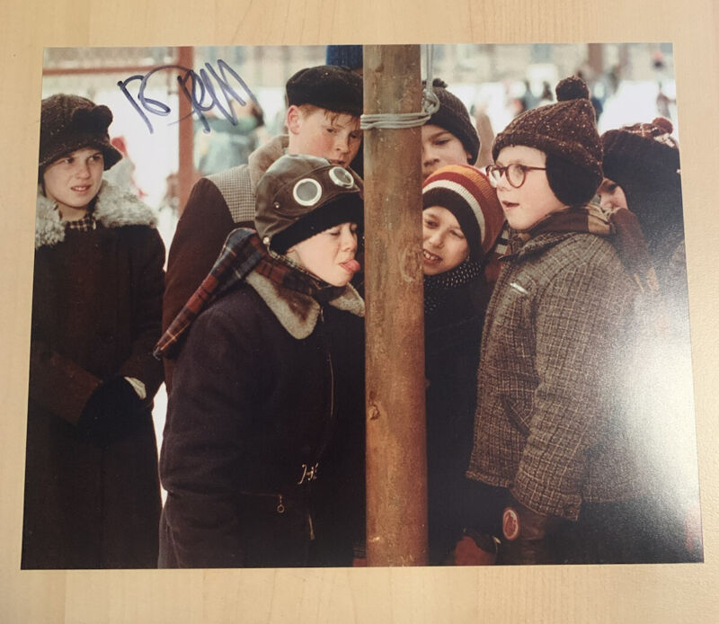 RD ROBB HAND SIGNED 8x10 PHOTO ACTOR AUTOGRAPHED A CHRISTMAS STORY SCHWARTZ COA