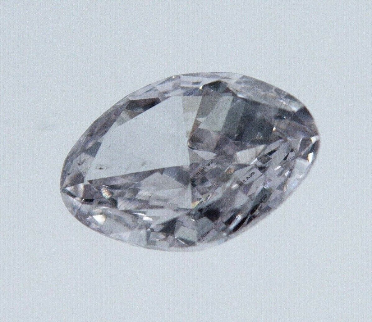 0.43ct Natural Loose Fancy Pink Color Diamond GIA Certified OVAL Shape