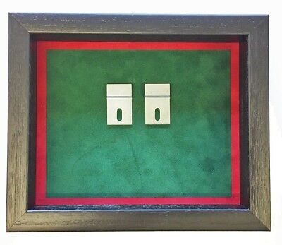 Medium RUC Medal Display Case. Black Frame