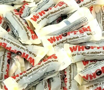 WHOPPERS Chocolate Covered Malted Milk Balls Candy, Fun Size 3 Balls, Bulk