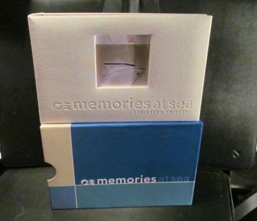 "Caribbean PRINCESS CRUISE LINE 100 4x6 PHOTO album book ""Memories At Sea"" ship"