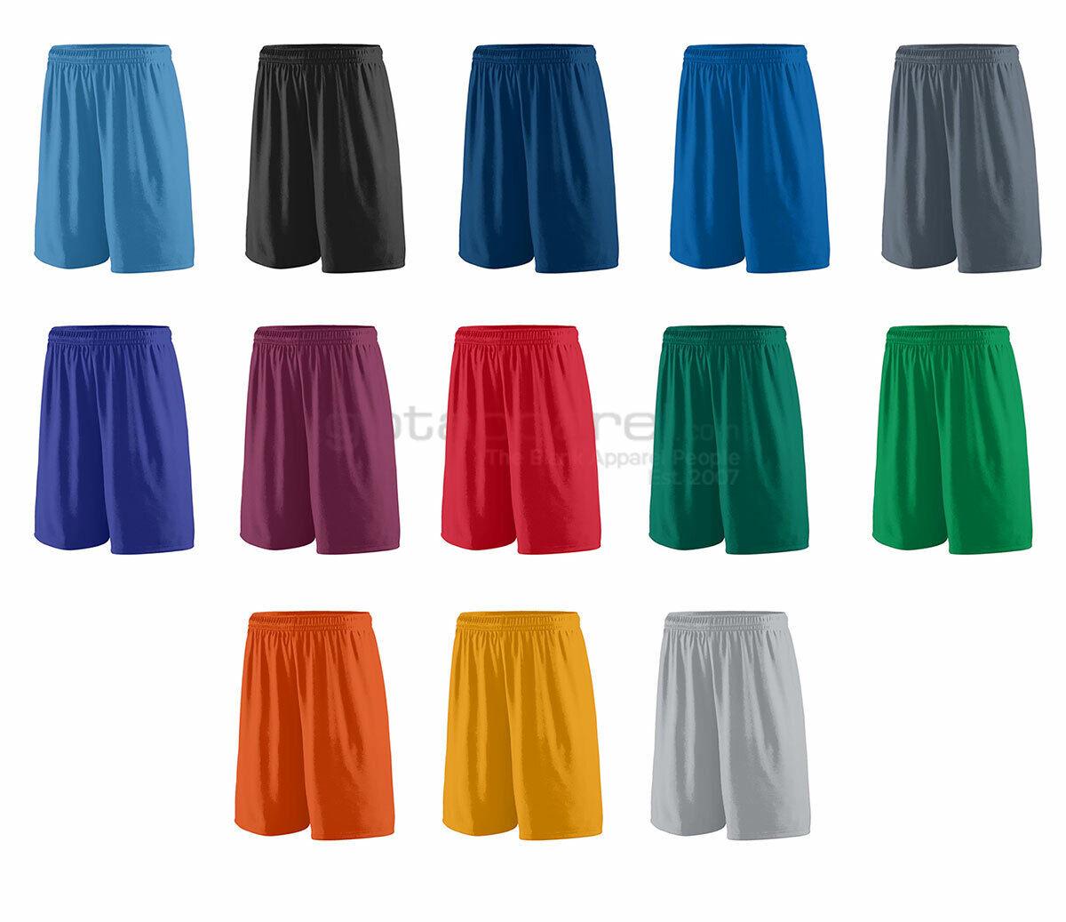 Augusta Sportswear Mens Elastic Waistband Wicking Knit Sport Shorts 1420