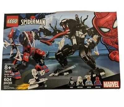 LEGO Marvel Spider-Man Spider Mech Vs. Venom Set # 76115