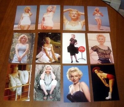 NEW 12 unused Marilyn Monroe Postcard LOT Licensed Copyrighted Photo Photograph