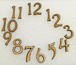 Antique Numerals For Mission Wall Clock 1 5/8 Tall Parts