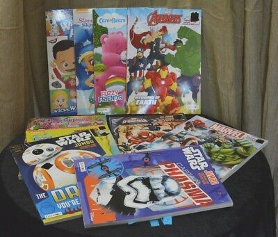 Children's Coloring Books (E171 CHILDREN'S MIX VARIETY LOT OF COLORING AND ACTIVITY BOOKS PICK ANY TWO FOR)
