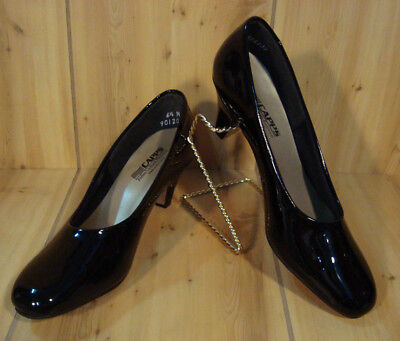 CAPPS Airlite Uniform Footwear Women's Black Patent Leather 90120 Size 6 -