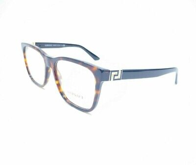 Versace Mod 3243 108  Dark Havana Rx Eyeglasses 55[]17 145mm