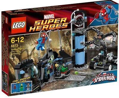 LEGO® SH 6873 Spider Man Labor Doctor Ock NEU OVP Serie 6869 6868 6867 6866 6865 online kaufen