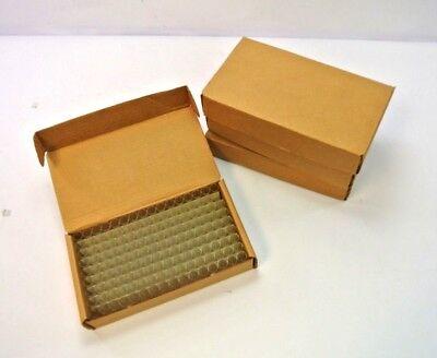 Lot 576 4ml 15x45mm Flat Bottom Test Tubes Vials Glass