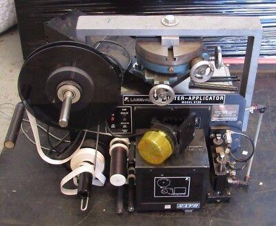 Label-aire Printer-applicator Model 2138