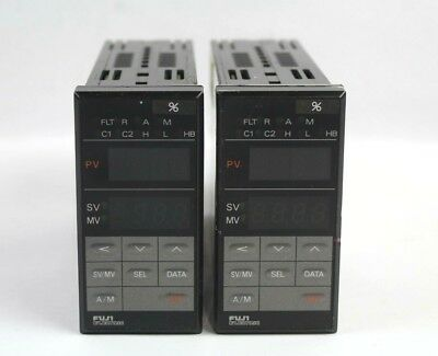 Fuji Electric Pyh5 Temperature Controller Lot Of 2