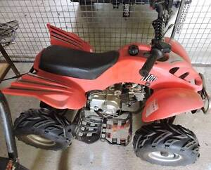 110CC Kids Quad Motor Bike + Battery Fighter Brightview Somerset Area Preview